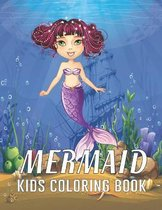 Mermaid Kids Coloring Book