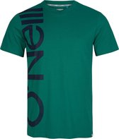 O'Neill O'Neill Shirt T-shirt - Mannen - groen - donkerblauw