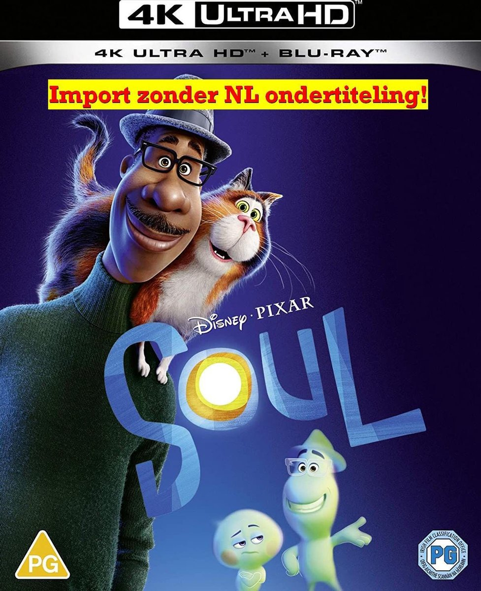 Disney and Pixar's Soul - [4K UHD + Blu-ray] [2021]-