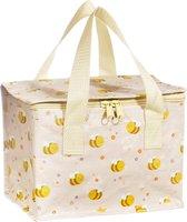 Lunchtasje/ koeltasje Bijen / Happy Bee van Sass & Belle