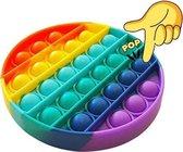 Pop it Fidget Toys - Regenboog / Rainbow - Rond