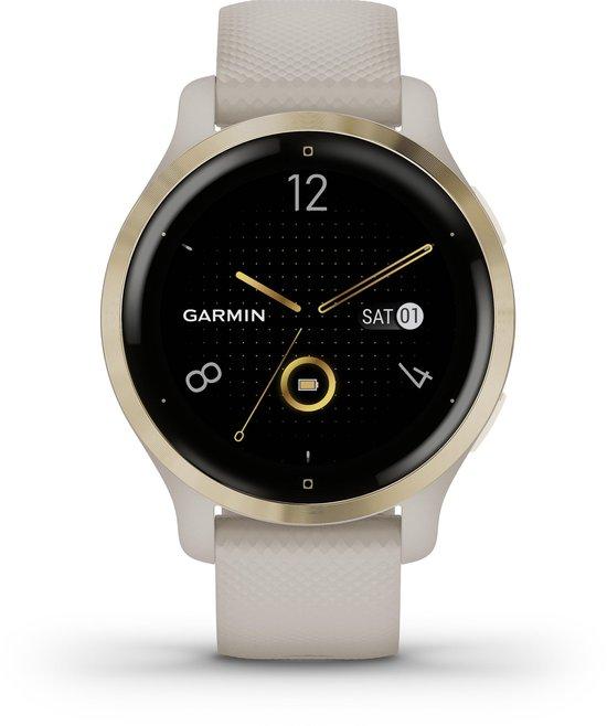 Garmin Venu 2S - Smartwatch - Goud