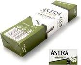 Astra Razor Blade Scheermesjes mannen - 100st - Double Edge scheermesjes - Shavette - Voor gezicht - safety razor blades