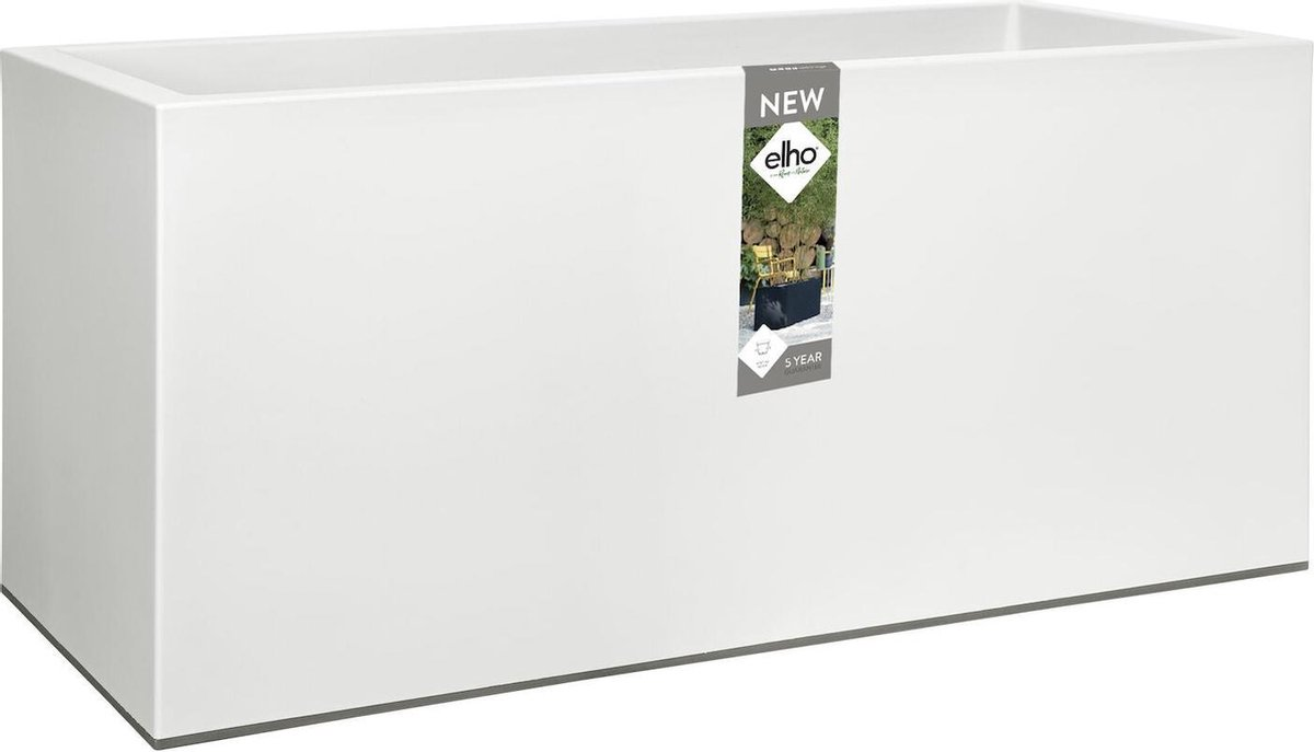 Elho Vivo Plantenbak Mat - 90 cm - Wit