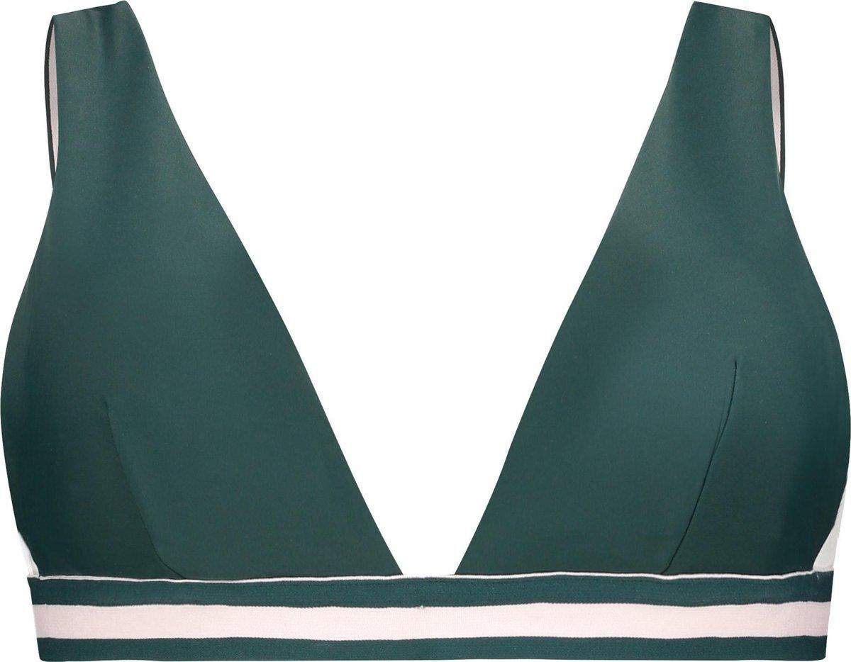 Hunkem ller Dames Triangle bikinitop Pinewood - maat L