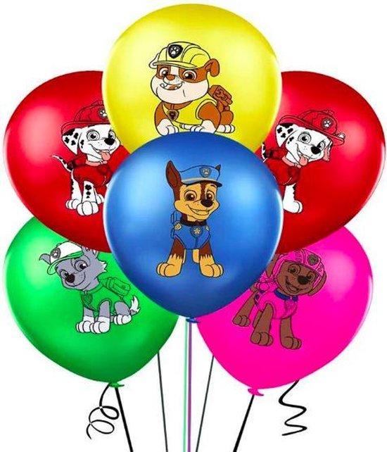 ProductGoods - 10x Paw Patrol Ballonnen Verjaardag - Verjaardag Kinderen - Ballonnen - Ballonnen Verjaardag - Paw Patrol - Kinderfeestjev