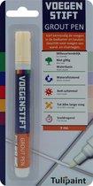 Tulipaint Voegenstift (Crèmewit) - Voegenmarker - Voegenpen - Voegenverf - voegen verven - voegenfris - voegenreiniger - voegen schoonmaken - tegelvoegen schoonmaak - tegelvoeg stift marker pen