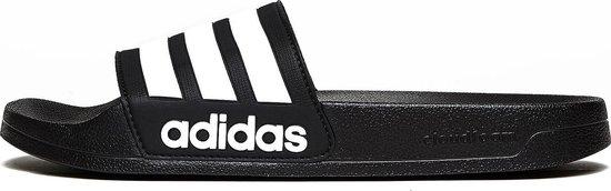 adidas Adilette Cloadfoam slippers Unisex - Black/White - Maat 44.5