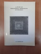 Boek cover Study paranormal impress. psychics van H.G. Boerenkamp