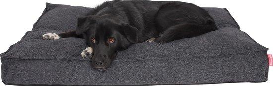 Snoozle Hondenkussen Amsterdam - Orthopedisch - Wasbaar - Hondenmand - Hondenbed - 120 x 90 cm - Stormy Grey