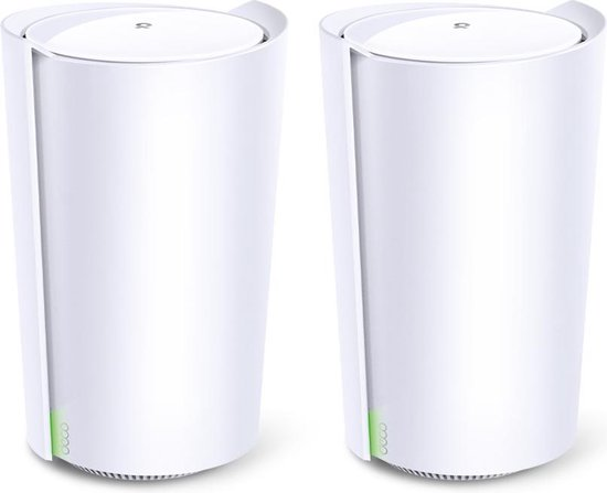 TP-Link Deco X90 - Mesh Wifi - Wifi 6 - 2-pack - Wit