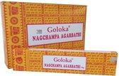 Nag Champa Goloka wierook (12 pakjes x 15 gram)