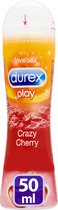 Durex Glijmiddel Play Cheeky Cherry - Kers - Waterbasis - 50 ml