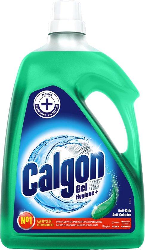 Calgon Hygiëne+ Gel Wasmachine Reiniger en Anti Kalk - 45 Wasbeurten - 2,25 L