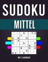 Sudoku Mittel: A4 SUDOKU BUCH über 200 Sudoku-Rätsel mit Lösungen - mittel - Tolles Rätselbuch - ... für Senioren - Geschenkidee für