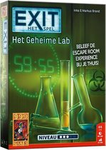 EXIT Het Geheime Lab - Escape Room - Bordspel