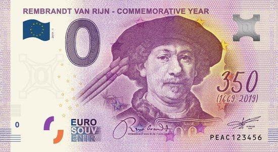 Afbeelding van het spel 0 Euro Biljet 2019 - Rembrandt