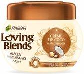 Garnier Loving Blends Kokos & Macadamia Haarmasker - 300 ml