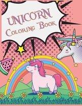 Unicorn Coloring Book: Unicorn Coloring Book For Girls