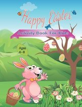 Happy Easter Activity Book for Kids Ages 4-8