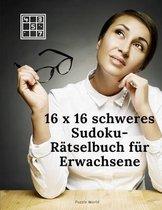 16 x 16 Schweres Sudoku Ratselbuch fur Erwachsene