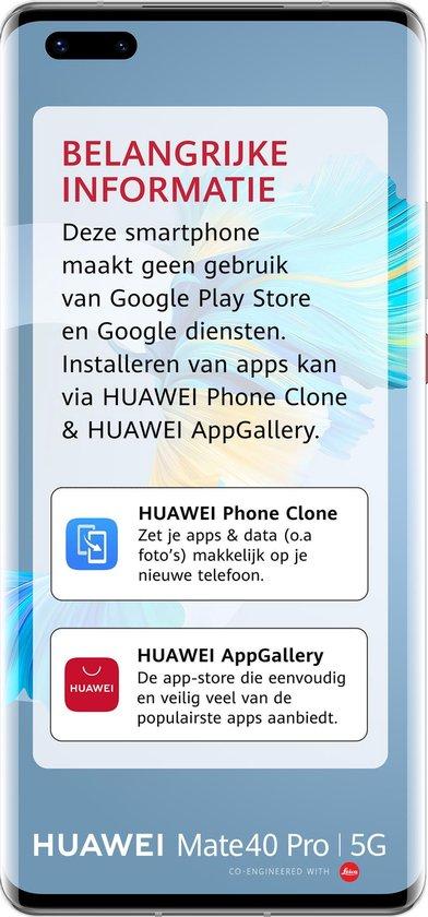 Huawei Mate 40 Pro - 256GB - Zilver