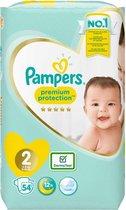 Pampers Premium Protection - maat 2 - 54 stuks