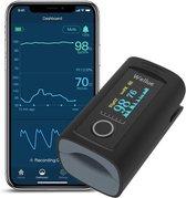 Wellue Oxysmart - Saturatiemeter  - Pulse Oximeter - Zuurstofmeter - Inclusief app & batterijen