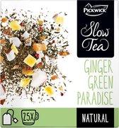 Pickwick Slow Tea Ginger Paradise Pak 25 Theezakjes van 3 gram
