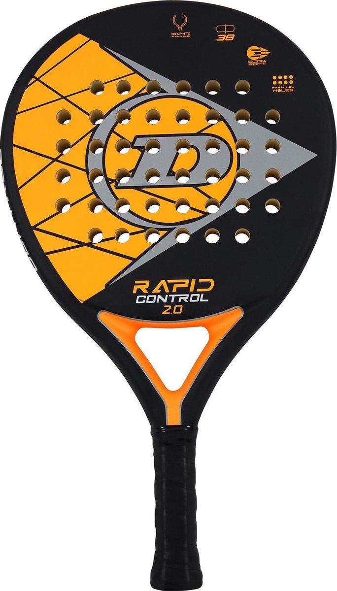 Dunlop PadelracketAlle – zwart/oranje/grijs