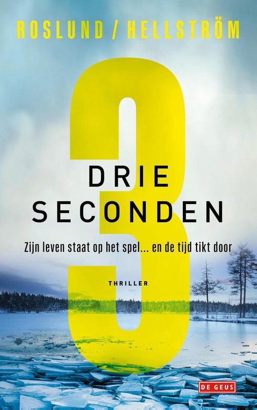 Boek cover Drie seconden van Anders Roslund (Paperback)