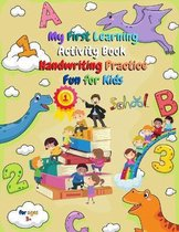 My First Learning Activity Book Handwriting Practice Fun For Kids