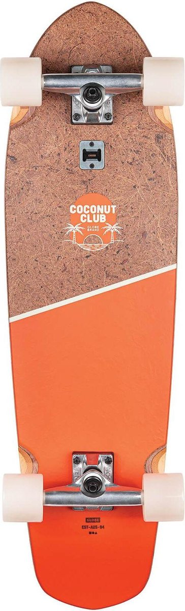 GLOBE Longboard Big Blazer - Coconut/Mandarin 32