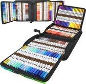 Dual Brush - brush pennen - 120 stuks - markers - twinmarkers - alcohol stiften