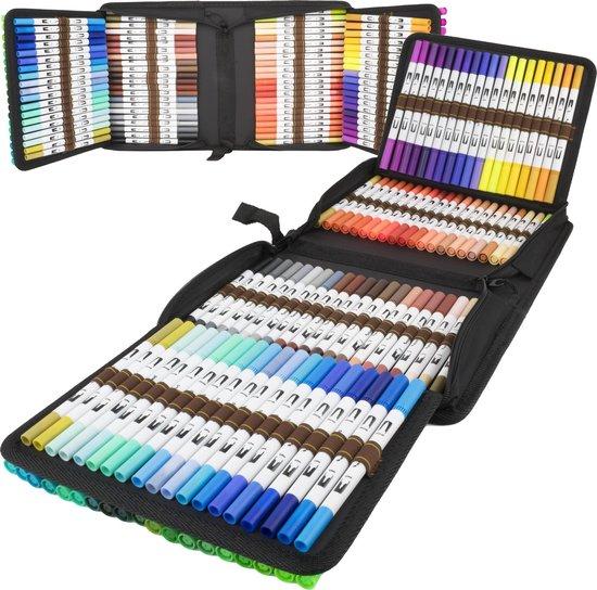 Afbeelding van Dual Brush - brush pennen - 120 stuks - markers - twinmarkers - alcohol stiften