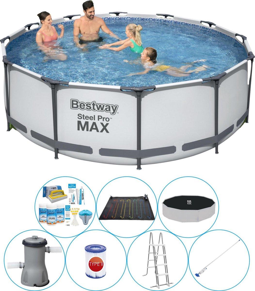 Zwembad Deal - Bestway Steel Pro MAX Rond 366x100 cm