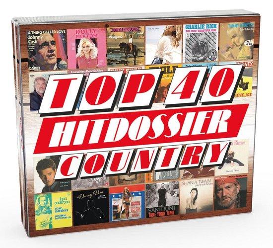 CD cover van Top 40 Hitdossier - Country van Top 40