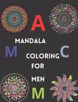 Mandalas coloring for men