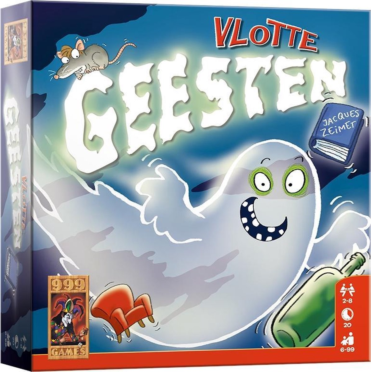 Vlotte Geesten - Kaartspel