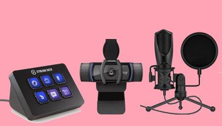 Accessoires voor streamers