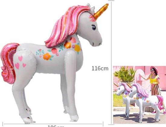 Eenhoorn folie Ballon xxl - Unicorn ballon xxl