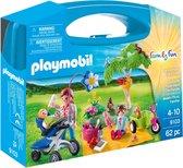 PLAYMOBIL Family Fun Family Picnic Meeneemkoffer - 9103