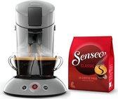 Philips Senseo Original HD6553/70 - Koffiepadapparaat incl. koffiepads - Zilvergrijs