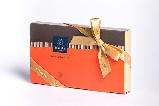 Chocolade Cadeau | Leonidas Bonbons | Giftbox Napolitains | 16 stuks