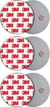 Rookmelder Bevestiging Magneet - Ophangsysteem - Magneten - Montageset - Brandmelder - 3M - 3 Stuks