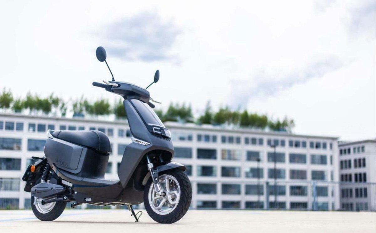 Velotia City - Elektrische Scooter - Lithium Batterij