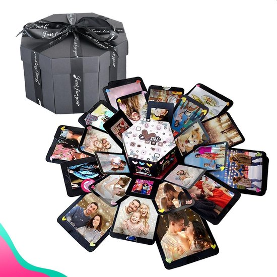 Dayshake Explosion Box - Inclusief Videohandleiding - Explosie Foto Doos - Foto Box