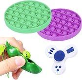 Fidget toys pakket - Pop It - Pea Popper - Fidget