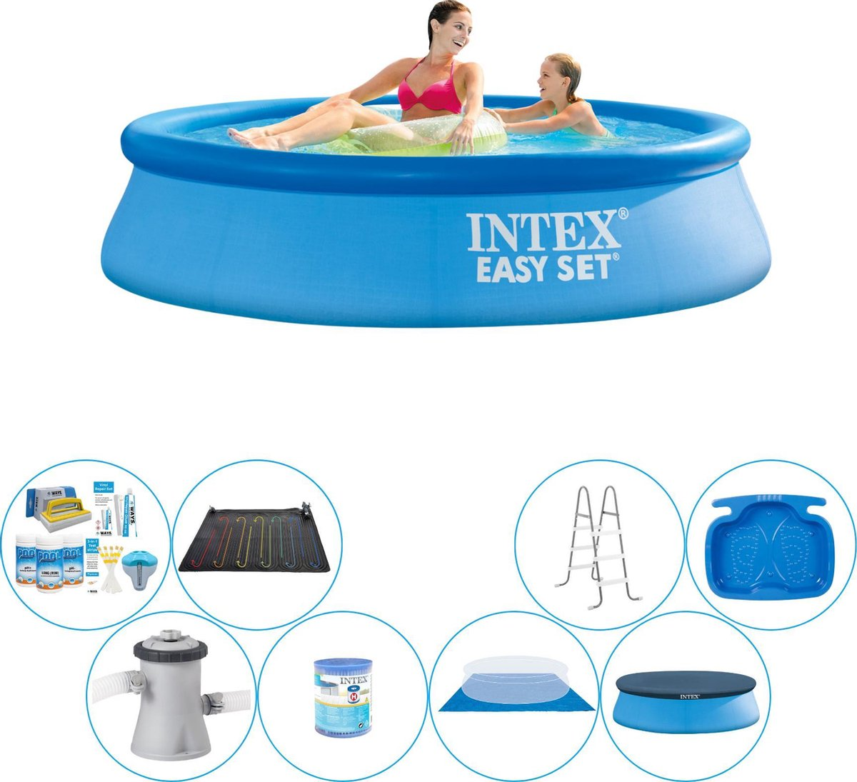 Intex Easy Set Rond 244x61 cm - Zwembad Super Deal