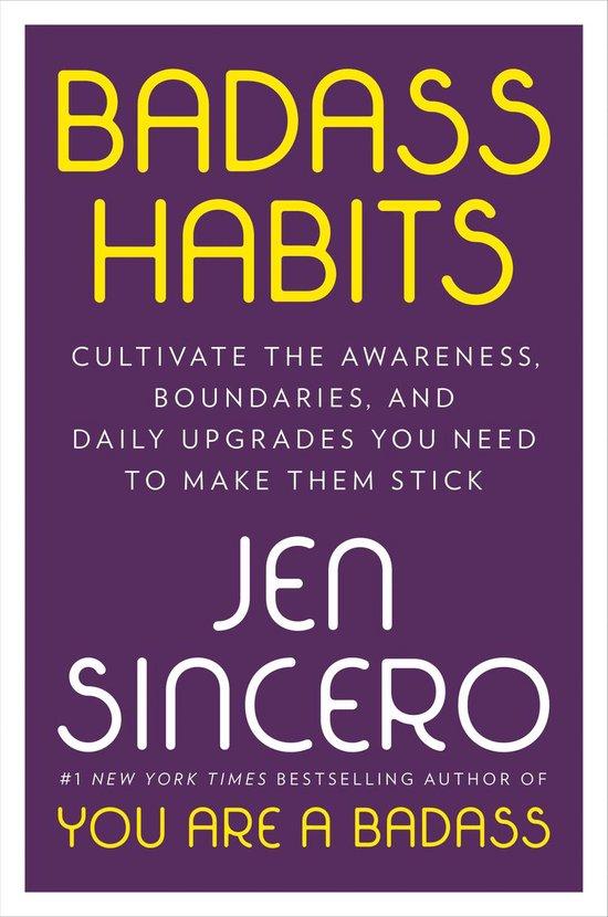 Boek cover Badass Habits van Jen Sincero (Paperback)